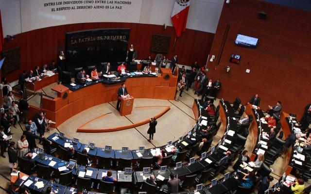 Senado avala terna para ministra de la Suprema Corte - Sesión en el Senado. Foto de Notimex-Francisco Estrada