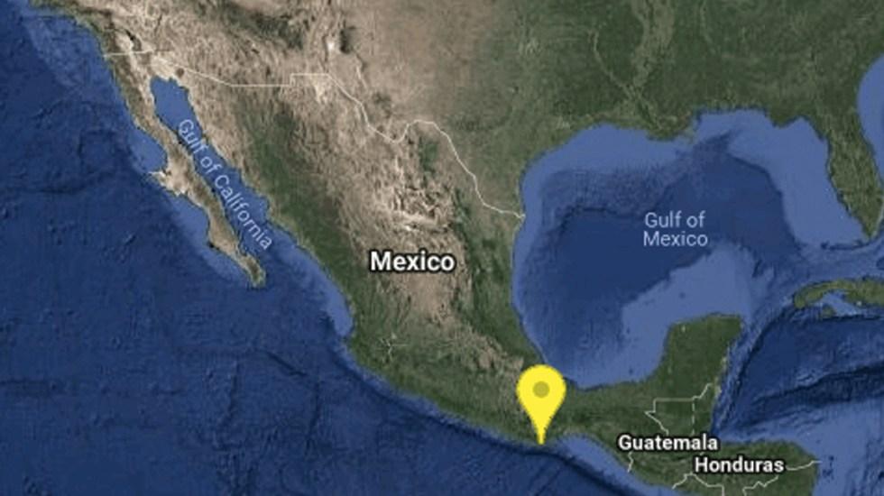 Sismo de magnitud 4.7 sacude Oaxaca - Foto de SSN