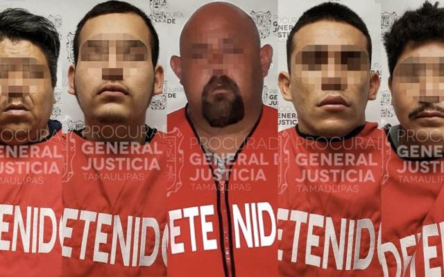 Detienen a 5 personas por asesinato de agente del MP Antisecuestros en Tamaulipas - Foto de Procuraduría de Tamaulipas