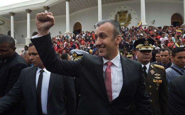 EE.UU. presenta cargos contra ministro venezolano Tareck El Aissami - Foto de AFP