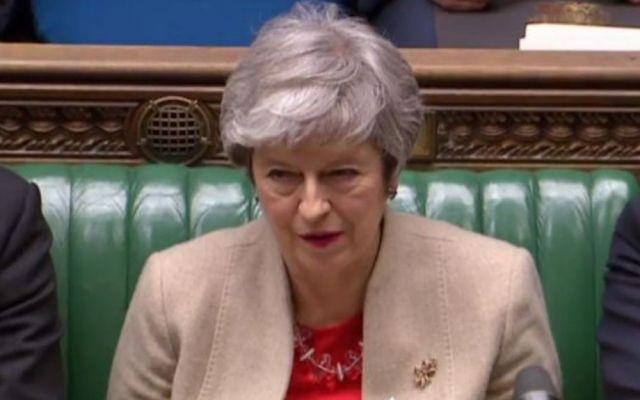Parlamento rechaza por tercera vez acuerdo del Brexit - Foto de AFP.