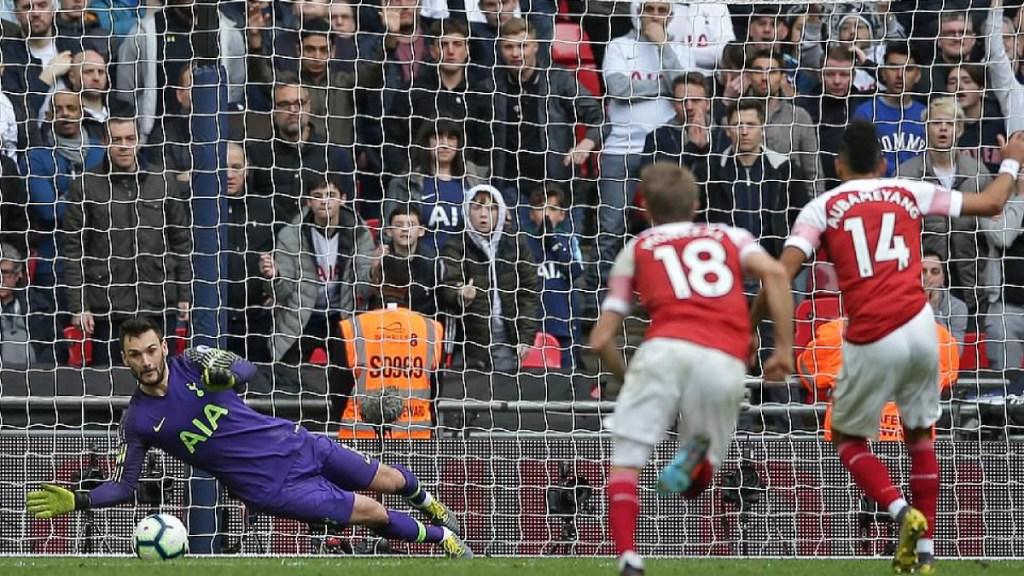 Hugo Lloris salva al Tottenham de caer contra el Arsenal - Tottenham empata con el Arsenal