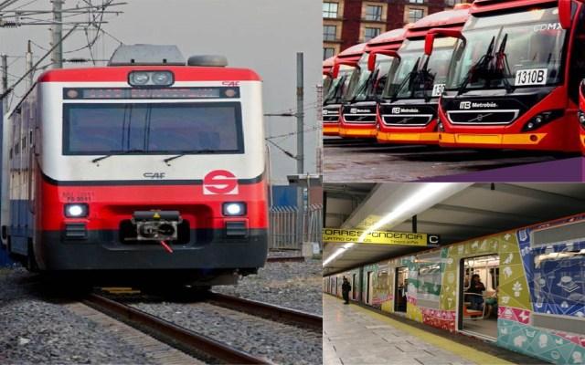 Transporte público operará con horario especial por puente - Transporte Colectivo de la CDMX. Foto de LDD
