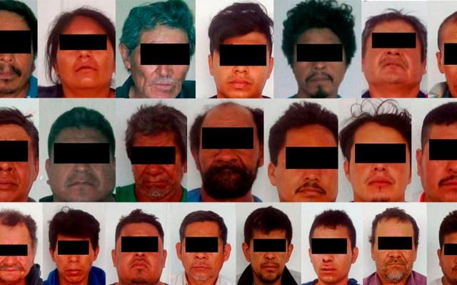 Fiscalía traslada a penal de El Amate a 35 detenidos en Tuxtla Gutiérrez - Foto de @FGEChiapas