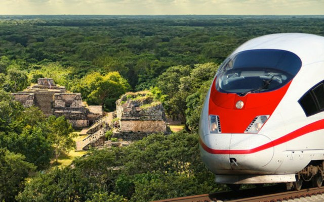 Trump dispuesto a invertir en Tren Maya: López Obrador - tren maya construcción costo imco