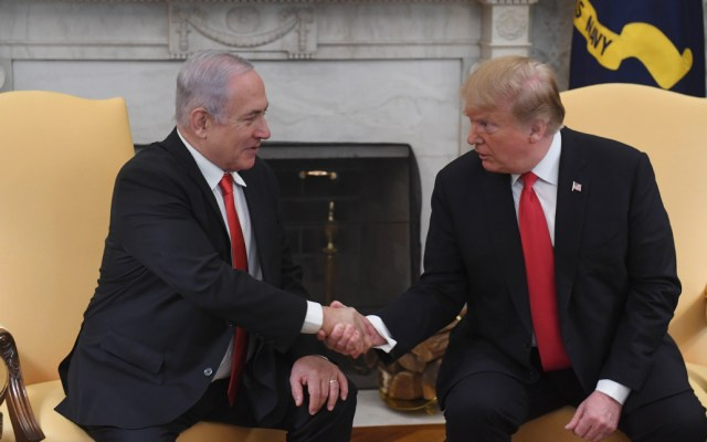 Trump reconoce a los Altos del Golán como parte de Israel - Foto de AFP