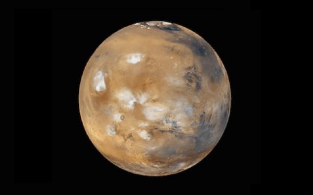 Agua en Marte podría desaparecer más rápido de lo esperado, según estudio - Vista completa de Marte. Foto de NASA