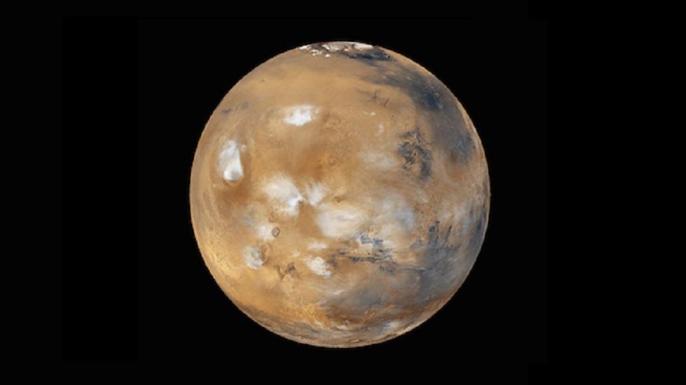 Vista completa de Marte. Foto de NASA