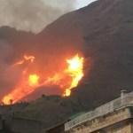 Incendio arrasa amplias zonas de montaña que abastece de agua a Caracas - Foto de El Universal de Venezuela