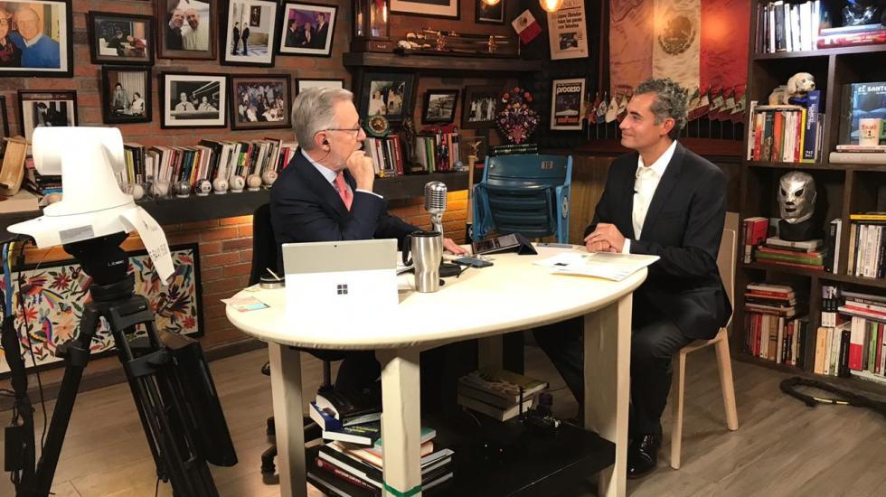 Enrique Ochoa rechaza acusaciones de AMLO