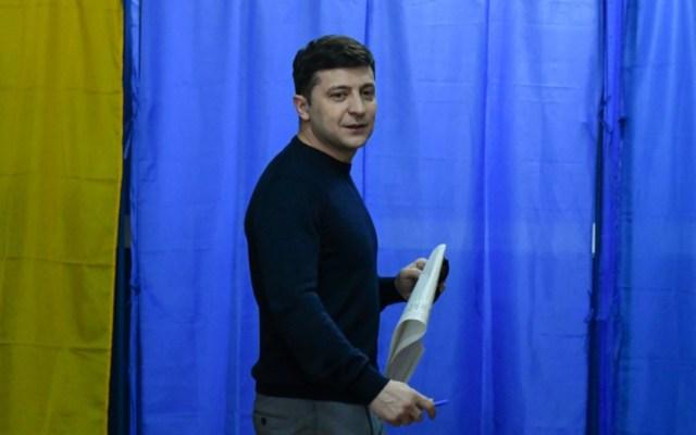 Un actor, el gran favorito en las presidenciales de Ucrania este domingo - actor zelensky elecciones ucrania