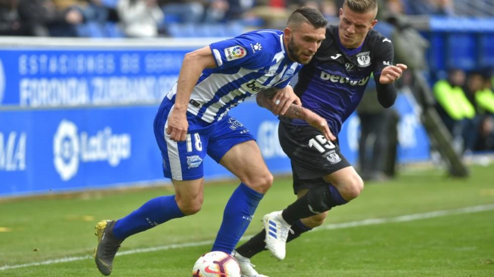 Leganés y Alavés empatan 1-1 con Diego Reyes en la banca - Alavés y Leganés empatan 1-1. Diego Reyes en la banca