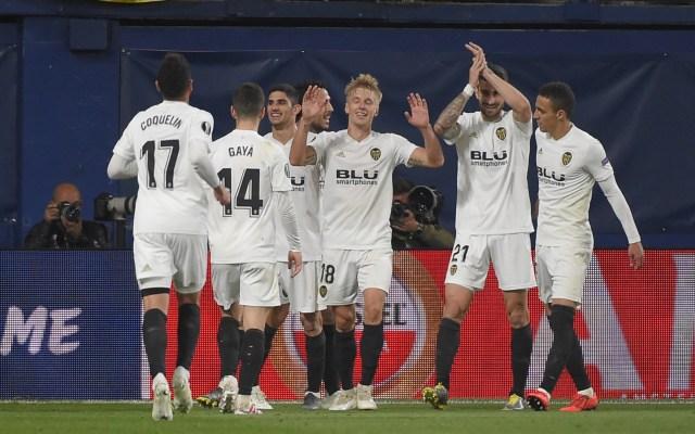 Valencia vence al Villarreal y se acerca a semifinales en la Europa League - valencia europa league