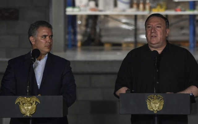 El fin de Maduro está cada día más cerca: Pompeo - Foto de Juan Barreto/AFP