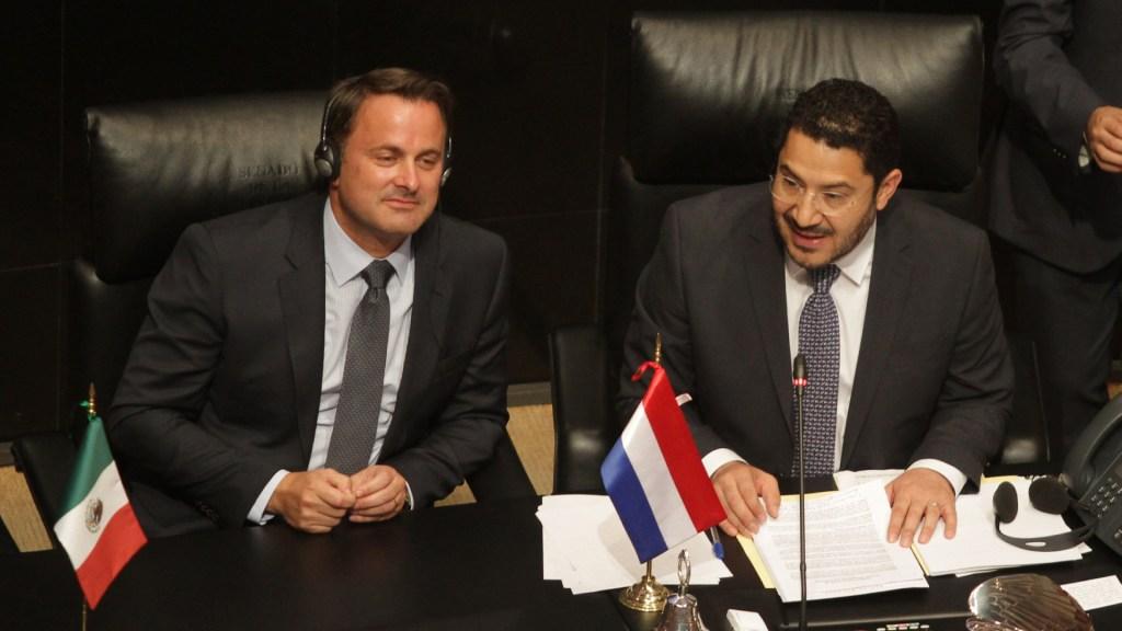 Primer ministro de Luxemburgo apoya lucha contra la corrupción de AMLO - Foto de Notimex/Gustavo Durán