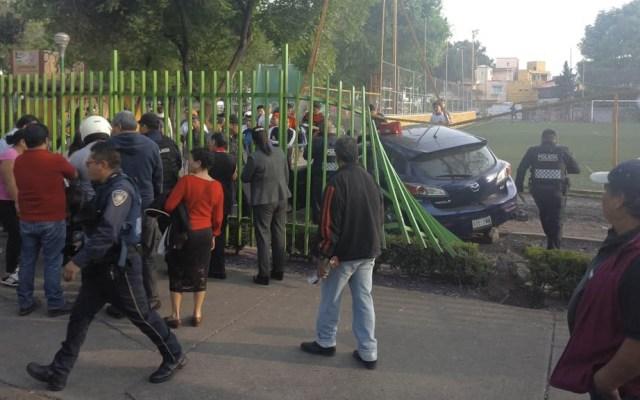 Automovilista ebrio atropella a tres en Calzada Taxqueña - Calzada Taxqueña Automovilista