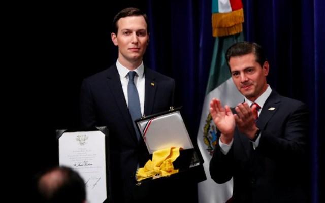 Piden que declaren Peña Nieto y Videgaray por condecoración a Kushner - peña nieto