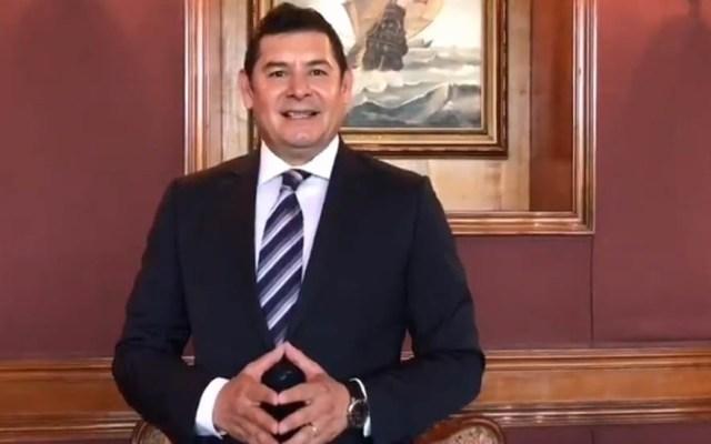 Morena no me ha notificado resolución sobre candidatura de Puebla: Armenta - Alejandro Armenta. Captura de pantalla