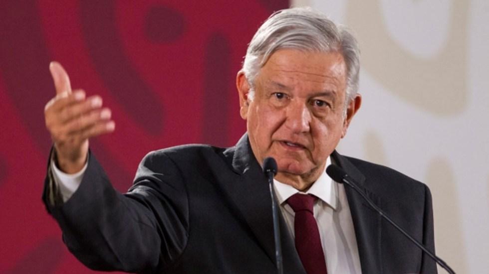 Denuncia del PAN ante OEA es absurda: López Obrador - Foto de Notimex
