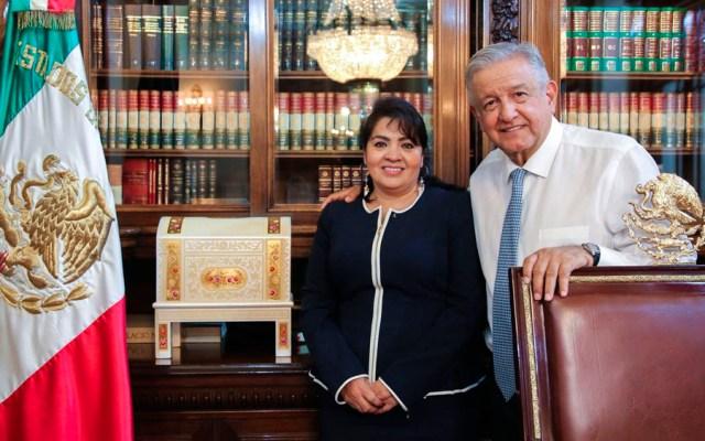López Obrador se reúne con Nestora Salgado - López Obrador Nestora Salgado