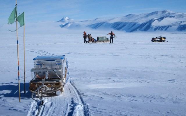 La plataforma de hielo más grande del mundo se derrite rápidamente - Antártida plataforma de hielo de Ross