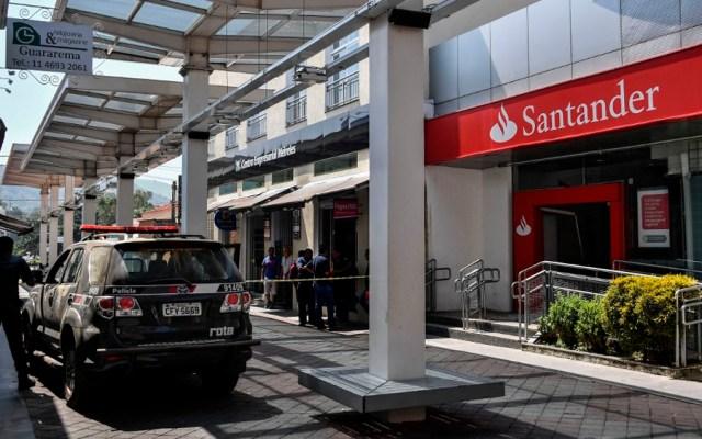 Policía mata a 11 asaltantes de bancos en Brasil - Foto de AFP