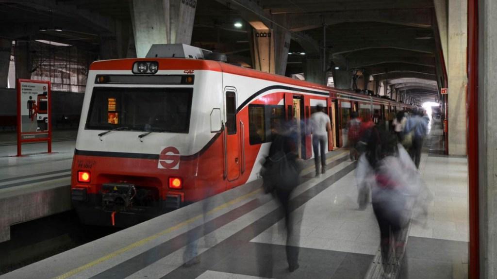 """Tren Suburbano llegará hasta aeropuerto """"Felipe Ángeles"""", en Santa Lucía - Foto de @Suburbanos"""