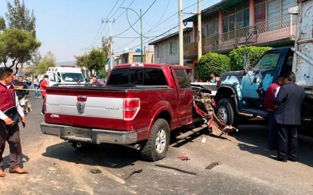 Asesinan a conductor de camioneta en Gustavo A. Madero - Foto de @israellorenzana