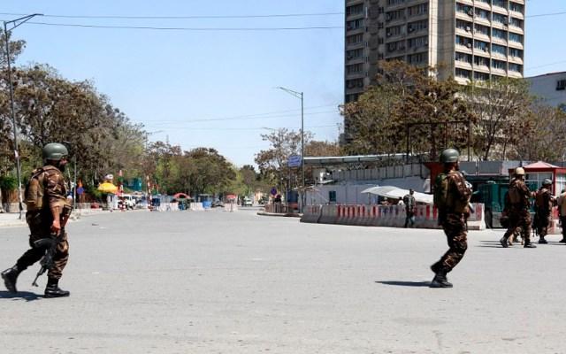 Siete muertos tras ataque a ministerio de Información en Kabul - Foto de AFP