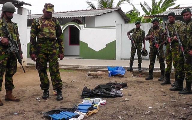 Al menos 15 muertos tras operativo contra islamistas en Sri Lanka - ataque sri lanka
