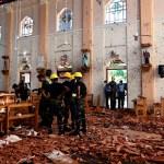 Suman 207 muertos por atentados en Sri Lanka - Atentado en Sri Lanka