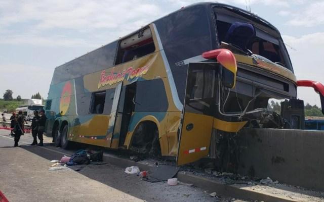 Mueren ocho en accidente cuando se dirigían al sepelio de Alan García - Foto de Twitter