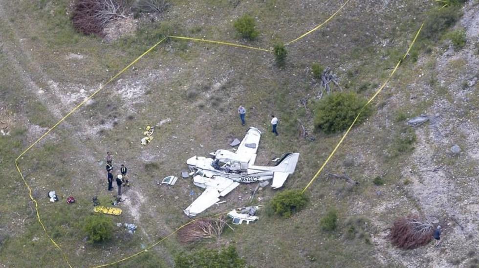 Mueren seis personas en accidente aéreo en Texas - Avión pequeño se estrella en Texas; hay seis muertos