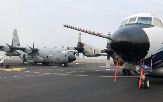 """Presentan en Veracruz aviones """"cazahuracanes"""" ante temporada de lluvias - Foto de @conagua_mx"""