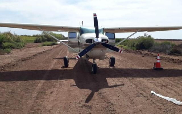 Aseguran aeronave con 400 kilos de mariguana en Sinaloa - avioneta mariguana sinaloa