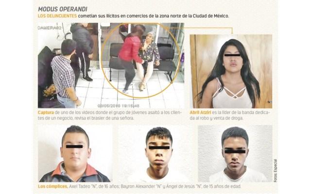 #Video Detienen a banda de menores dedicados al robo y venta de droga - Foto de Contra Réplica