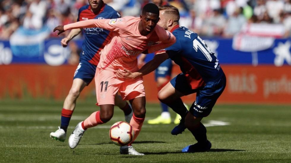 Un Barcelona 'B' empata sin goles en la cancha del Huesca - Foto de @FCBarcelona