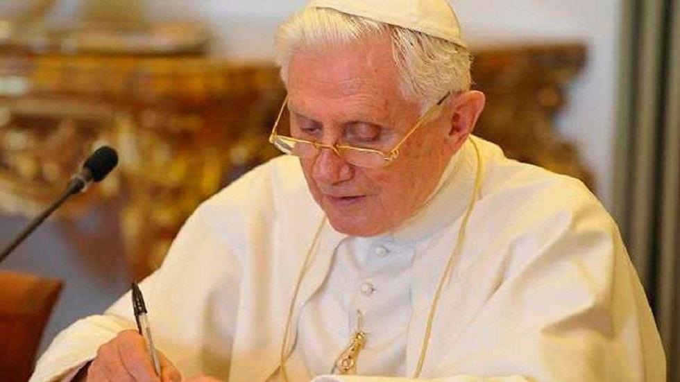 Matrimonio gay, una obra del anticristo: Benedicto XVI - Benedicto XVI. Foto de Vatican Media / ACI Prensa