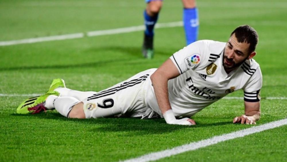 Benzema es baja en el Madrid por lesión muscular - benzema lesión