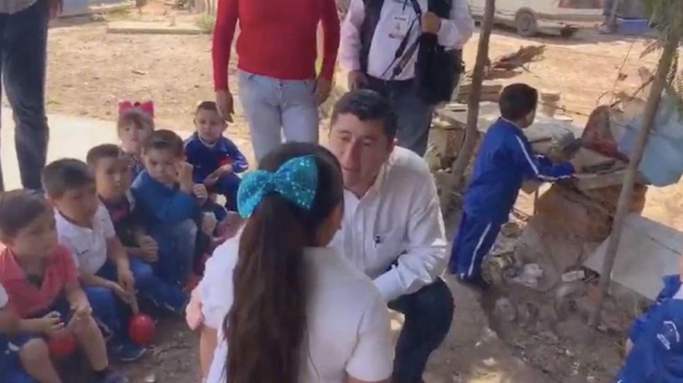Alcalde de Ahome humilla a niña - Captura de pantalla