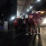 Nuevo bloqueo en la autopista México-Cuernavaca - Foto de @OVIALCDMX