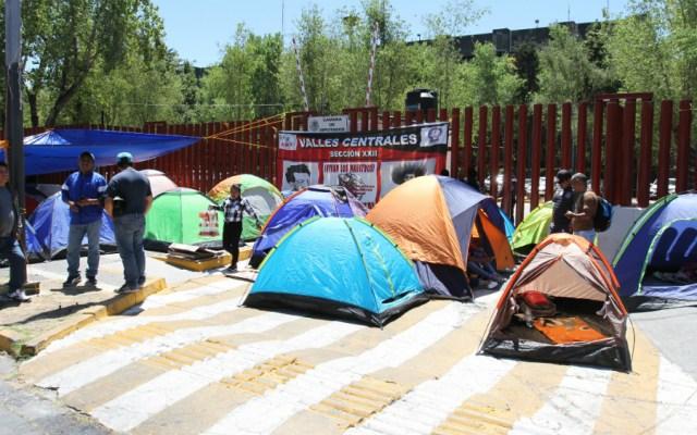 Anuncia CNTE nuevo bloqueo en San Lázaro - Foto de Notimex