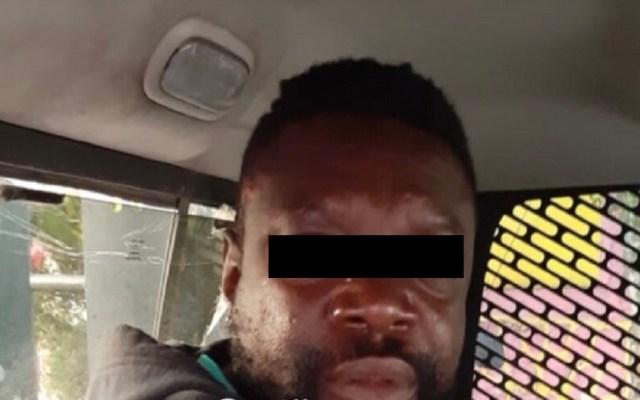 Detienen a boxeador camerunés por violación en la CDMX - Boxeador camerunés Ndo J. Foto de @c4jimenez