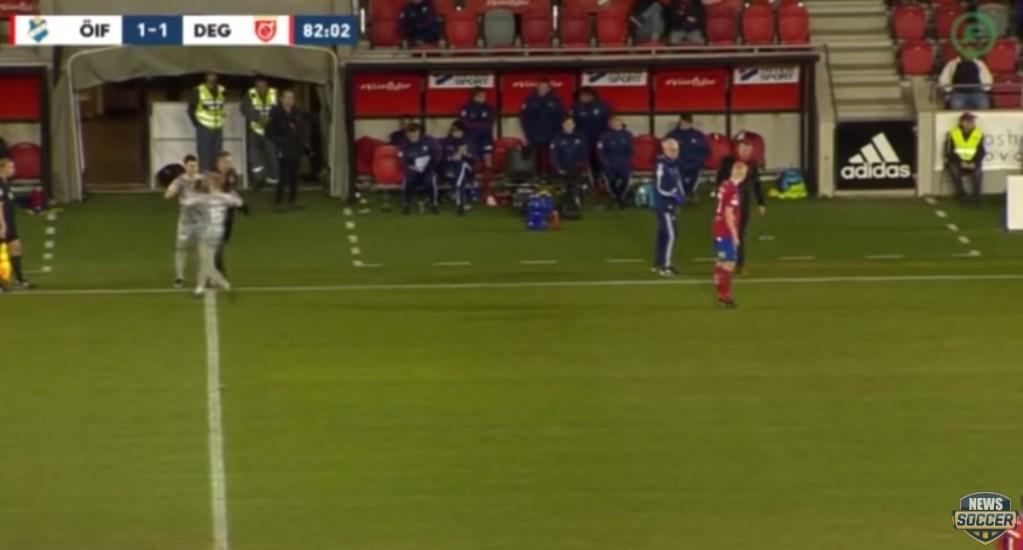 #Video Jugador sueco sufre una de las lesiones más rápidas del futbol. Noticias en tiempo real