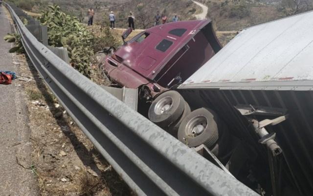 Accidente en la Chamapa-Lechería deja 8 muertos - Foto de @PF_Carreteras