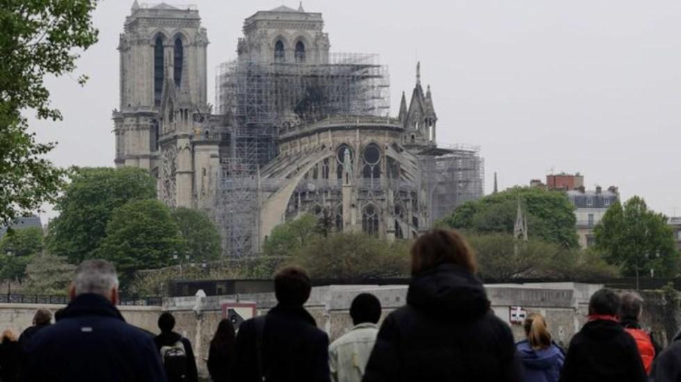 Oficiarán primera misa en Notre-Dame tras incendio - vulnerabilidades notre-dame incendio