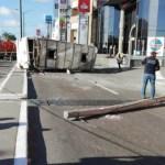 Choque entre automóvil y autobús de pasajeros deja 20 lesionados - choque autobús tampico lesionados