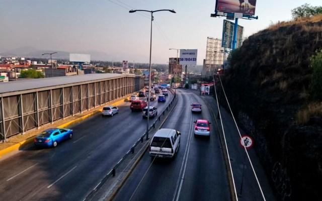 Falla geológica provocaría nuevo cierre de Circuito Interior - Foto de @SOBSECDMX