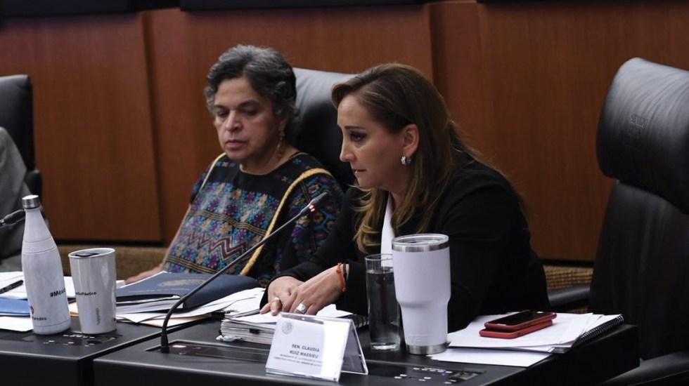 Senado rinde homenaje a María de los Ángeles Moreno - senado maría de los ángeles moreno