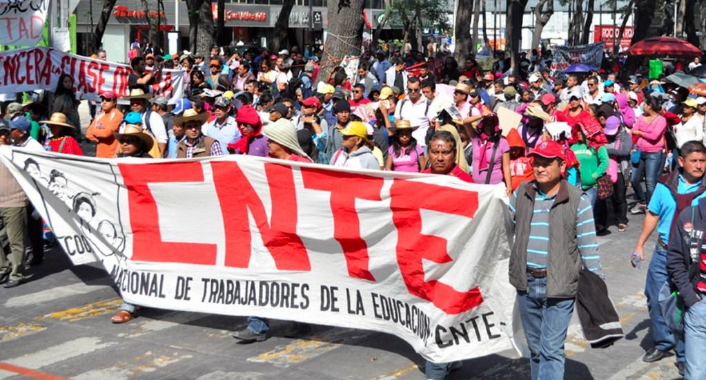 Con la Reforma Educativa solo gana la CNTE: René Juárez - cnte